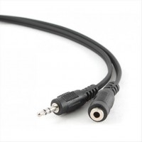 CABLEXPERT 3,5mm Stereo Audio Extension Cable 1,5m Black