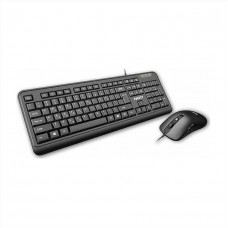 Nod Business Pro Wired Keyboard & Mouse Black