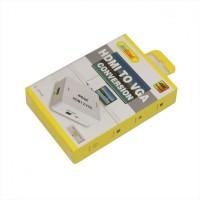 Andowl HDMI female - VGA female (Q-JC145) White