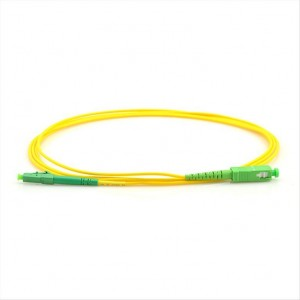SC/APC to LC/APC Singlemode Fiber Optic, 3m