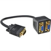 Καλώδιο διαχωριστή VGA Splitter 0,2 m Black