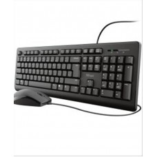 Nod ValuePro Set Wired Keyboard And Mouse Black